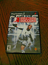 SONY PS2 PAL EUROPEAN WORLD TOUR SOCCER 2006 VIDEO GAME 100% COMPLETE EUC
