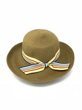 Women s Beautiful Straw Wide Brim Hat Beach Sun Hats With Side Bow e6d14ae939af