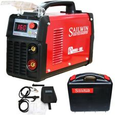 160AMP MMA/ARC/STICK & LIFT TIG PORTABLE DC INVERTER WELDER + CARRY CASE/KITS