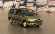 RENAULT ESPACE by Norev or Solido or?  1/43 scale model  lt. Met Green