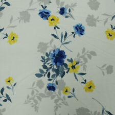 Floral Printed Bubble Chiffon Fabric - Style P-80B-586