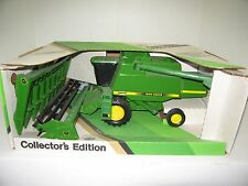 1/28 JOHN DEERE 9600 COLLECTOR EDITION w/BOTH HEADS NIB FREE SHIPPING