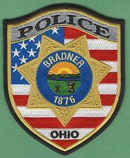 BRADNER OHIO POLICE PATCH