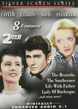 Silver Screen Series - 8 Features  (DVD, 2-DISCS)  SEE LIST BELOW   NEW