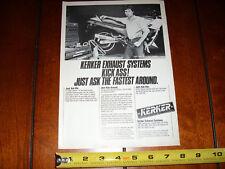 EDDIE LAWSON YAMAHA FJ1100 KERKER - ORIGINAL 1985 AD