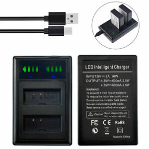 LP-E10 Slim LED DUAL Battery Charger for Canon EOS Rebel T100 1300D 2000D 4000D