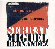 Serrat Miguel Hernandez Hijo De La Luz Y La Sombra CD Caja De Carton New Nuevo