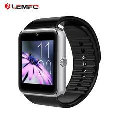Lemfo GT08 Bluetooth Deporte Inteligente Reloj Teléfono Mate Para IOS Android