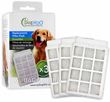Dog H2O Fountain Filter Pads 3 Pack Replacement Carbon Foam Spare Media LB-CH015