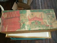 "MARX SUPER CIRCUS PLAY SET 1950""s No. 4319 TIN LITHO w/Box and Most Pieces"