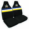 Front Car Seat Covers NRL North Queensland Cowboys - Set Of 2 One Size Fits All
