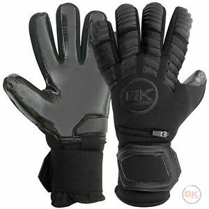 GK Saver Protech 201 Blackout negative cut Football Goalkeeper Gloves Size 6 -11