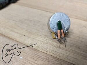 "Treble Bleed Guitar Mod ""Kinman"" Spec .0012µF Cap & 130 kΩ Resistor FREE POST"