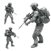 AH-01 1/35 Modern American Army Special Forces A Resin Soldier Model Q3L7