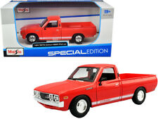 1973 Datsun 620 Pickup Die-cast Truck 1:24 Maisto 7 inches Red
