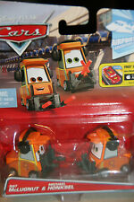 "DISNEY PIXAR CARS 2  ""NAT McLUGNUT & MICHAEL HONKSEL"" NEW IN PACKAGE, SHIP WW"
