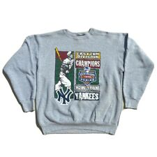 Vintage Starter New York Yankees Crewneck Sweatshirt Div. Champs Mens XL