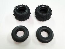 NEW TAMIYA FROG Tires Front & Rear Set GRASSHOPPER HORNET TFD