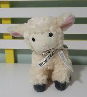 SHEEP PLUSH TOY PROKIWI NEW ZEALAND LAMB STUFFED ANIMAL 21CM