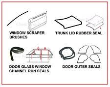 Mercedes W114 W115 Door Window Trunk Rubber Seals 13 PCS Free Express Shipping