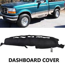 Xukey Dash Mat Dashboard For Ford F150 F250 F350 92-96 Dashmat Cover Black 93