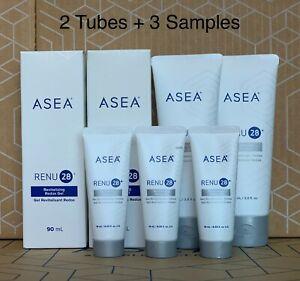 Genuine ASEA RENU28 Revitalizing Gel 90mlx2+10mlx3 Anti-aging *Free Post
