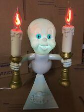 1996 Trendmasters Casper The Friendly Ghost Light Up Candles Candelabra
