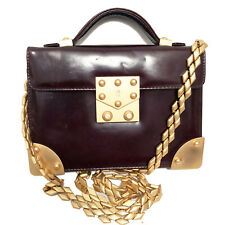 VINTAGE SUSAN BENNIS / WARREN EDWARDS MINI CROSSBODY BAG
