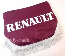 RENAULT TRUCK Finestra SCUDO Pelmet TENDE PARABREZZA forma d'onda Logo Emblem Rosso