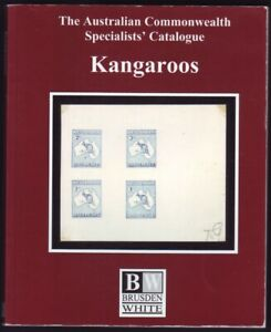 2017 ACSC KANGAROOS STAMP CATALOGUE FULL COLOUR 192 PAGES (AS NEW) FREE POST