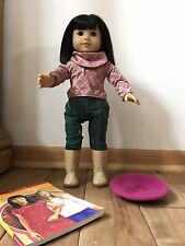 American Girl Doll Retired Julie Best Friend Ivy Complete Beret Book EUC