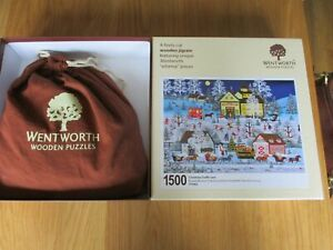 Wentworth Wooden Puzzle Christmas Traffic Jam 1500 pieces # 771802 complete