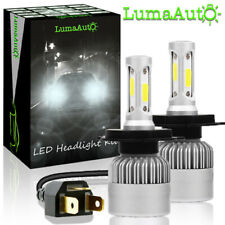 LumaAuto H4 HB2 9003 LED Headlight Kit - High/Low Beam Bulbs - 6000K, 8000LM