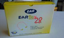(Lot Of 10) Box 3M E-A-Rflex 28 Semi-Aural Hearing Protection, Nrr 28 - 3201000