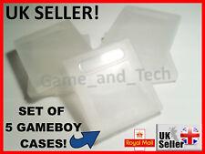 x5 GAMEBOY Cases GBC GB for Nintendo Game Boy Colour Cartridges for Mario Zelda