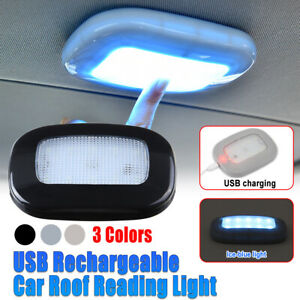 LED Rechargeable Car Dome Ceiling Interior Reading Trunk Roof Lights Lamp  ▲ ☆