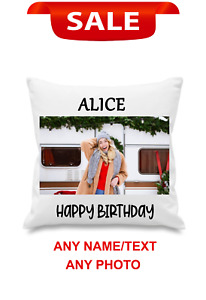 Personalised Photo Pillowcase Cushion Pillow Case Cover Custom Gift - Any photos