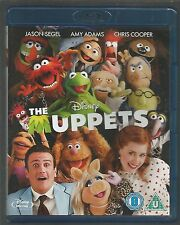 THE MUPPETS - Disney - JASON SEGEL - UK BLU-RAY