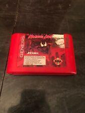 Sega Genesis Video Game Cartridge Spiderman Venom Maximum Carnage - RED Cart