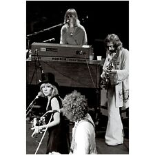 "Fleetwood Mac • Winterland Sf '70s 12"" x 18"" Photograph by Steve Carlisle Signed"