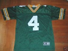 VINTAGE STARTER NFL GREEN BAY PACKERS BRETT FAVRE SIZE YOUTH L/XL