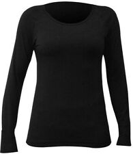 Hot Chillys Scoopneck Baselayer Top - Black, Small, New with Tags