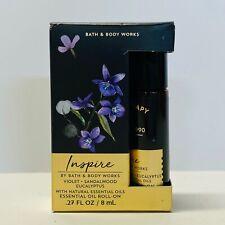 Bath & Body Works INSPIRE Essential Oil Roll On Violet Sandalwood Eucalyptus