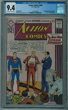 ACTION COMICS #288 CGC 9.4 BEST CGC COPY ONE OF ONLY 9 IN 9.4 OW/W PGS 1962 003