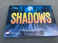 New ThinkFun Shadows in The Forest Play in The Dark Board Game Strategy