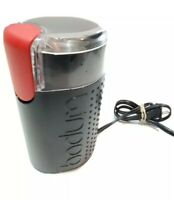 Bodum Bistro Push-Button Electric Coffee Grinder - Black