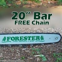 """20"""" Forester Laminated Bar W/FreeChain 3/8"""" pitch, 050 gauge, 72 link Fits Husky"""