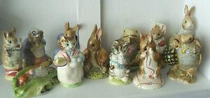 Vintage Royal Albert Beatrix Potter Figures BS6 All VGC Select Your Favourite