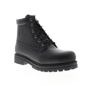Fila Edgewater 12 1SH40061-001 Mens Black Ankle Lace Up Casual Dress Boots