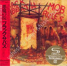 BLACK SABBATH MOB RULES DELUXE EDITION 2 CD MINI LP OBI Osbourne Iommi Ward Dio